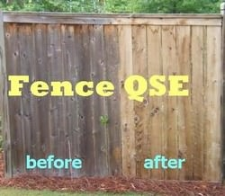 Fence Cleaner QSE restores years to your fence