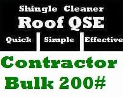 Roof Cleaner QSE 200lbs - Roof Cleaning Business size