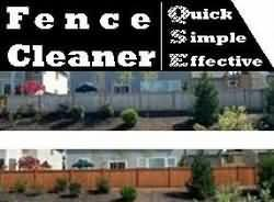 Fence Cleaning : Fence Cleaner QSE
