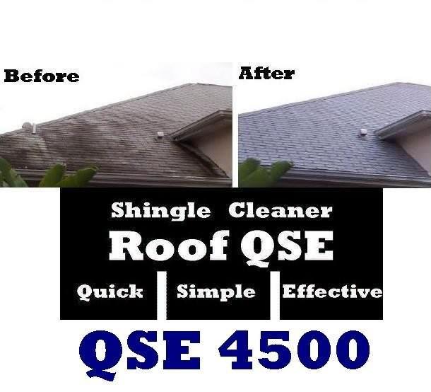 Roof Shingle Mold Algae Amp Mildew Mold Remover Roof