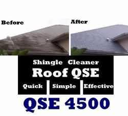 Roof mildew cleaner