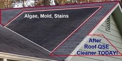 Roof QSE Cleaning results photo