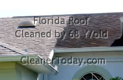Roof Cleaning in Florida