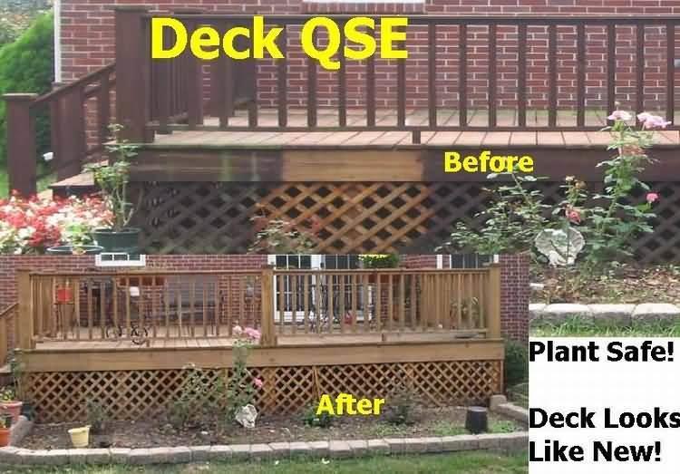 Deck Cleaner Qse Deck Cleaner For Mildew Mold Algae