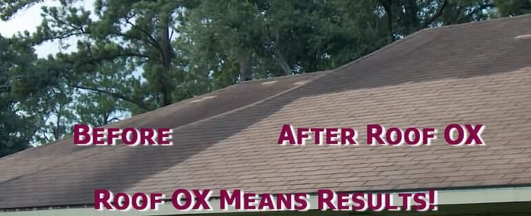 Roof Cleaner OX 3000 get your roof back