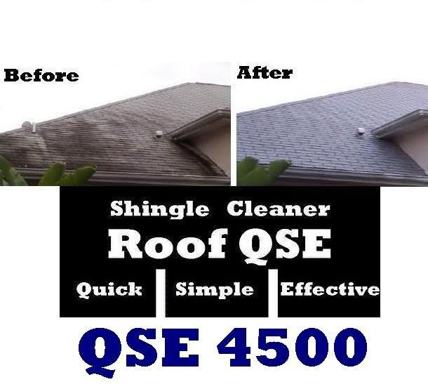 Roof Shingle Mold Algae Amp Mildew Mold Remover Roof