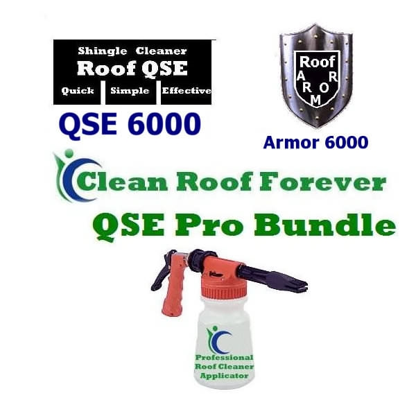 Roof Cleaner QSE Professional Bundle