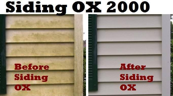 siding cleaner ox effective earth friendly non toxic