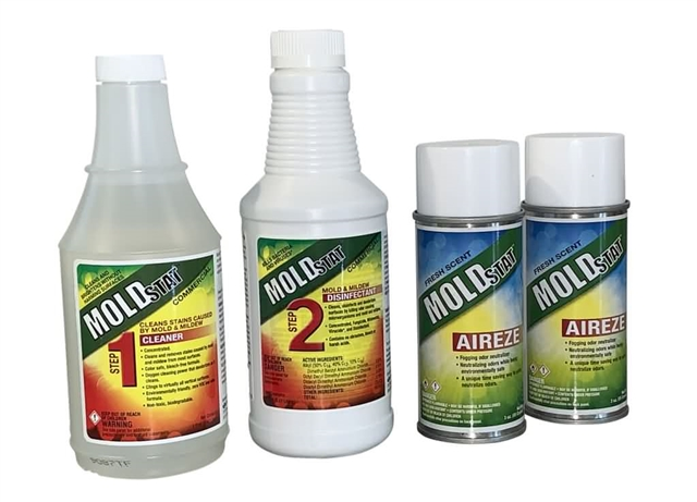 Mold KIller Kit - MoldSTAT Step #1, Plus & Aireze