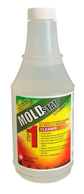 Step 1  - Mold Cleaner